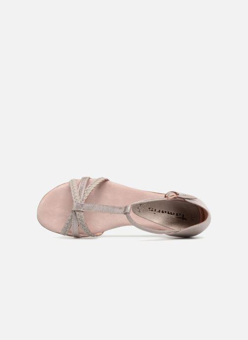 Sandales et nu-pieds Tamaris Carthame Rose vue gauche
