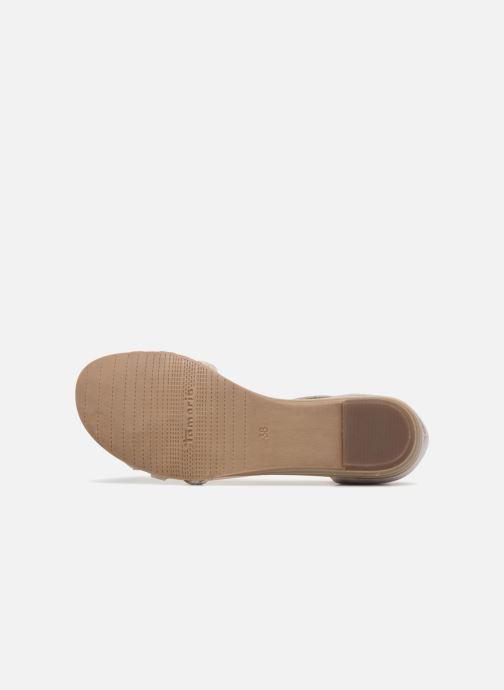 Sandales et nu-pieds Tamaris Carthame Rose vue haut