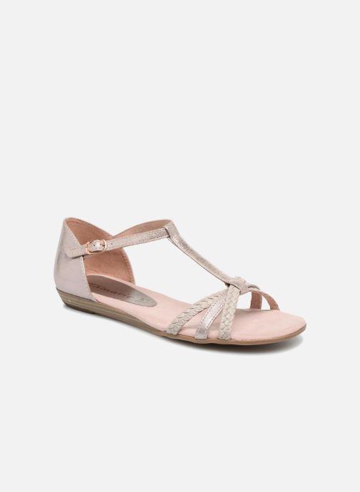 Sandales et nu-pieds Tamaris Carthame Rose vue détail/paire