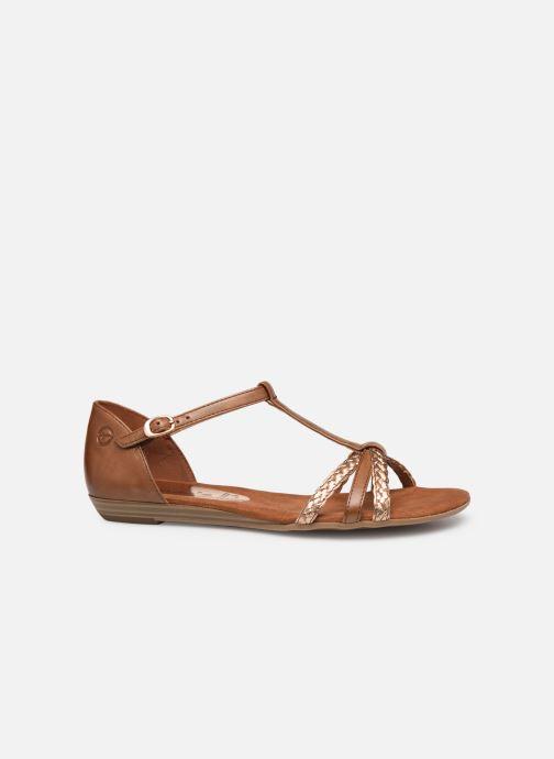 Sandales et nu-pieds Tamaris Carthame Marron vue derrière