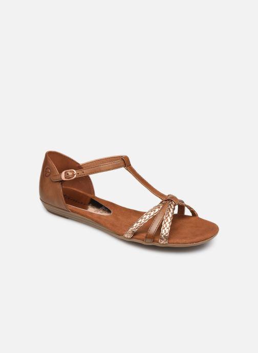 Sandales et nu-pieds Tamaris Carthame Marron vue détail/paire