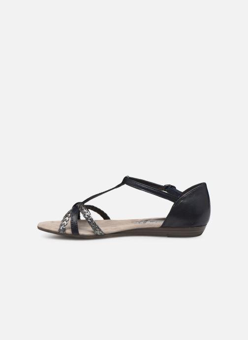 Sandales et nu-pieds Tamaris Carthame Bleu vue face