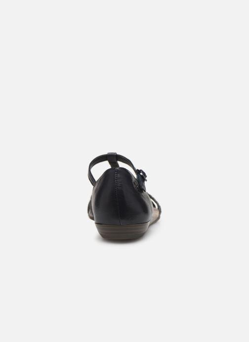 Sandales et nu-pieds Tamaris Carthame Bleu vue droite