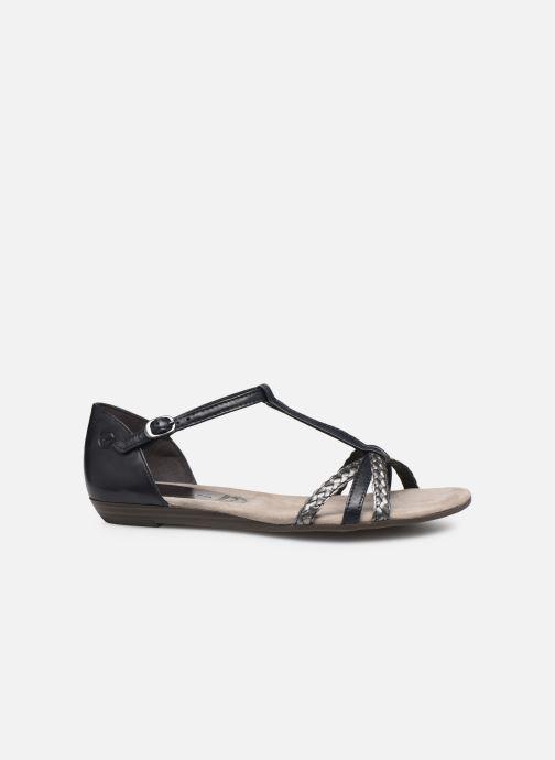 Sandales et nu-pieds Tamaris Carthame Bleu vue derrière