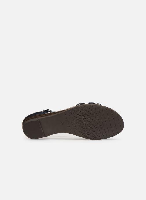 Sandales et nu-pieds Tamaris Carthame Bleu vue haut