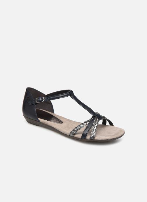 Sandales et nu-pieds Tamaris Carthame Bleu vue détail/paire