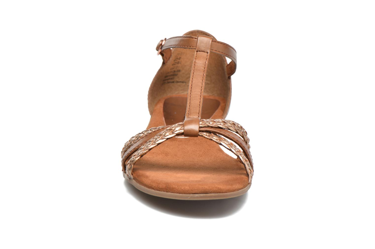 Sandals Tamaris Carthame Brown model view