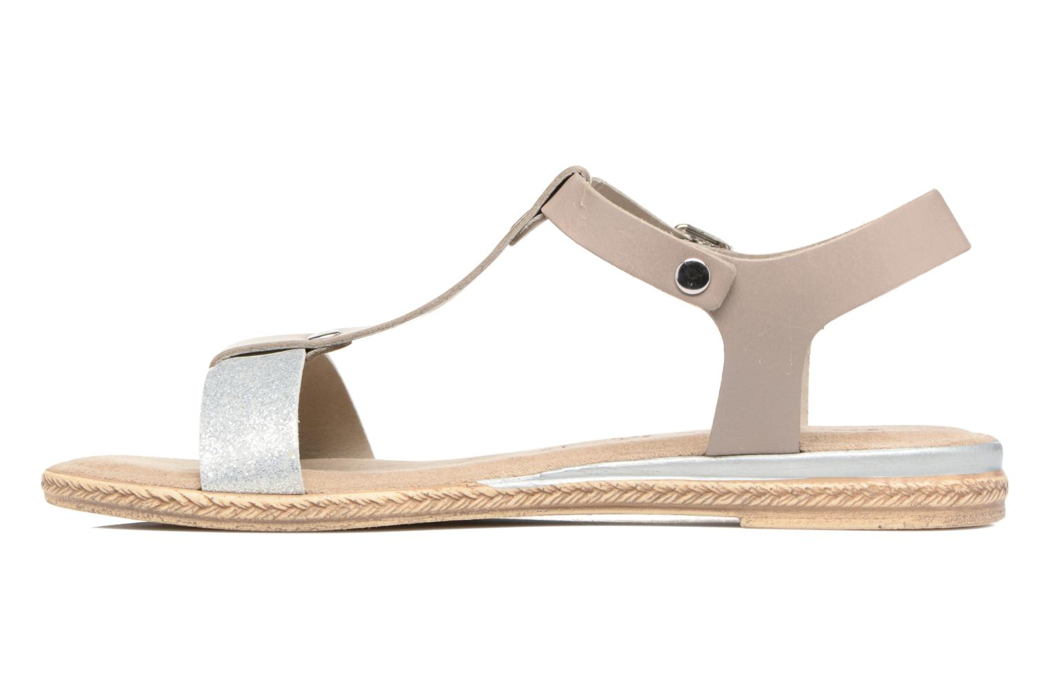 Sandals Tamaris Silène Grey front view