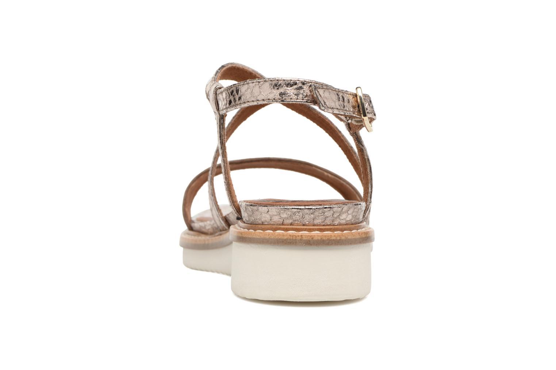 Sandales et nu-pieds Tamaris Stellaire Marron vue droite