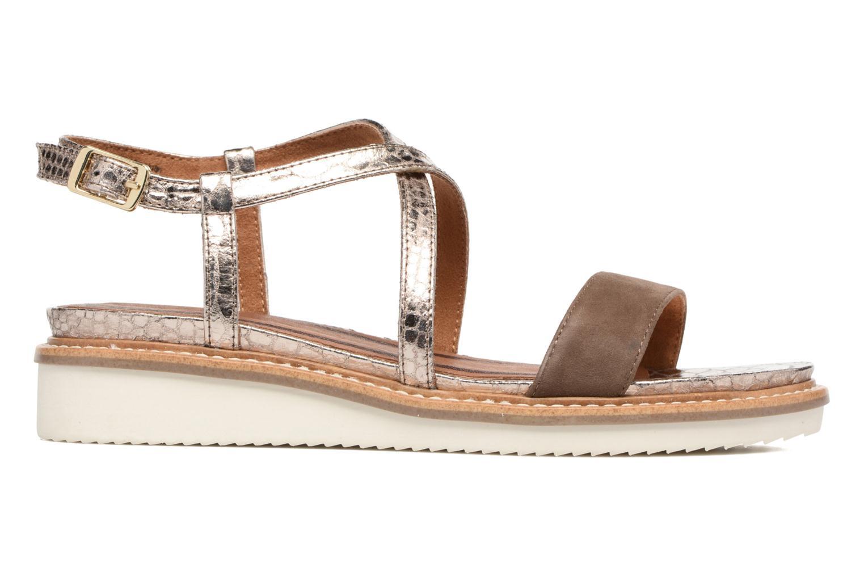 Sandales et nu-pieds Tamaris Stellaire Marron vue derrière
