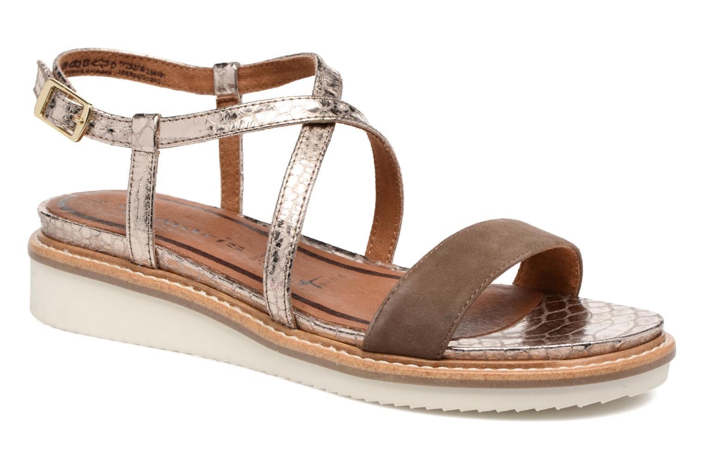Sandales et nu-pieds Tamaris Stellaire Marron vue détail/paire