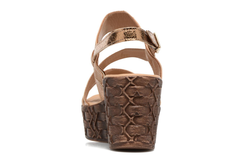 Sandales et nu-pieds Tamaris Lamier Beige vue droite