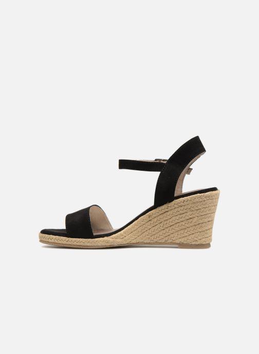 Sandales et nu-pieds Tamaris Nepeta Noir vue face