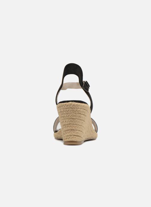 Sandales et nu-pieds Tamaris Nepeta Noir vue droite