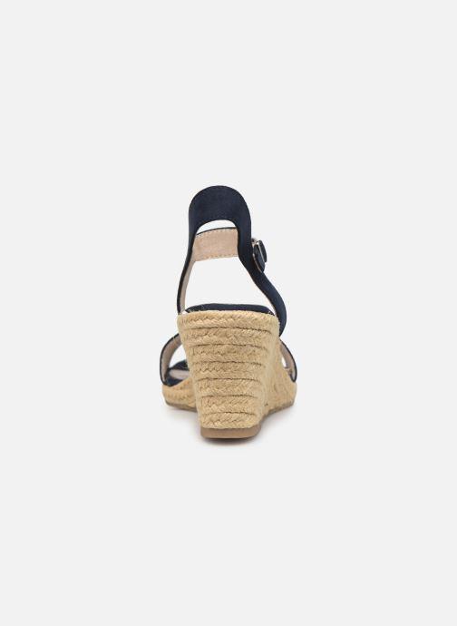 Sandales et nu-pieds Tamaris Nepeta Bleu vue droite