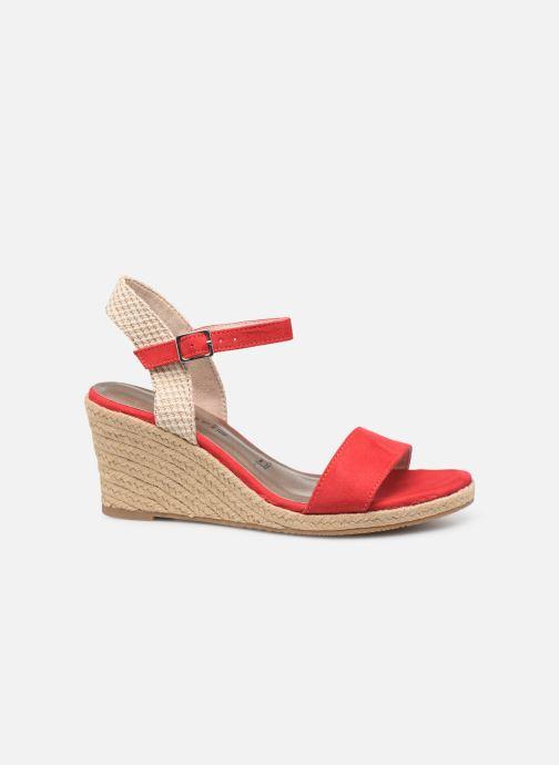 Sandales et nu-pieds Tamaris Nepeta Rouge vue derrière