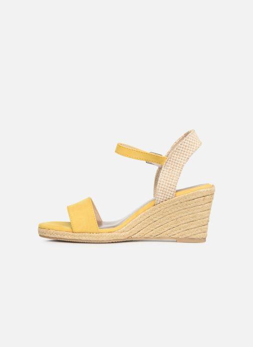 Sandales et nu-pieds Tamaris Nepeta Jaune vue face