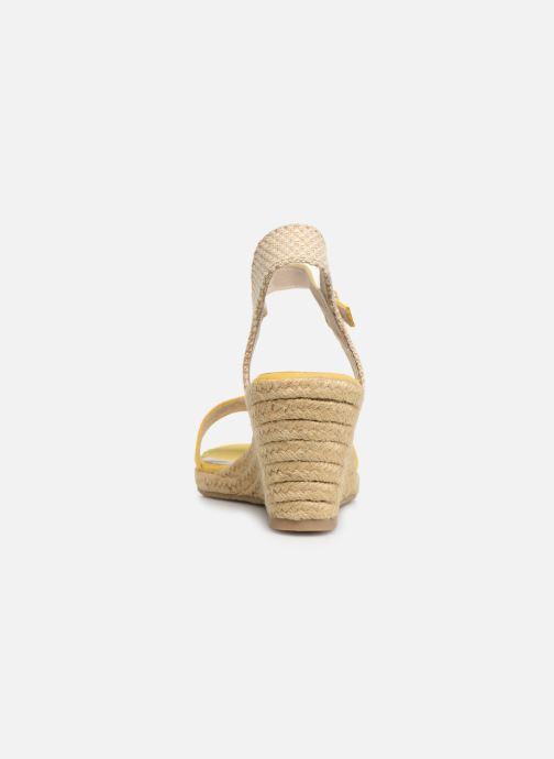 Sandales et nu-pieds Tamaris Nepeta Jaune vue droite