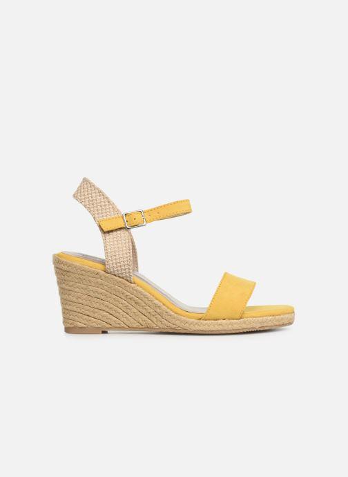 Sandalen Tamaris Nepeta gelb ansicht von hinten