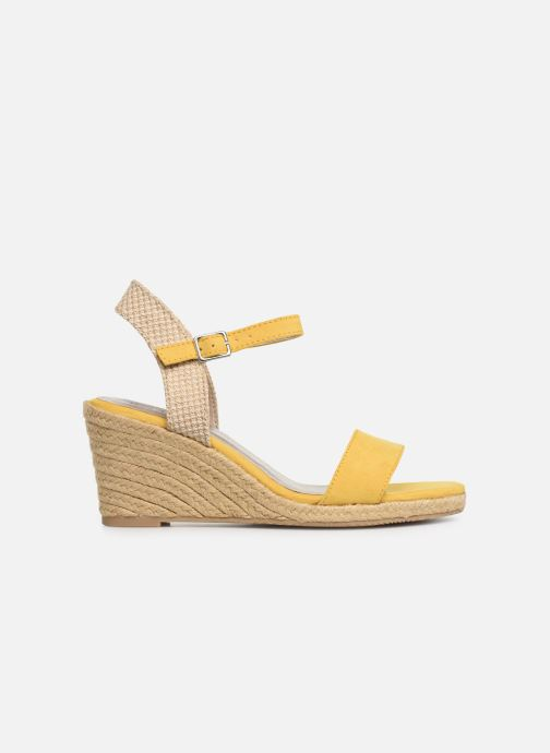 Sandales et nu-pieds Tamaris Nepeta Jaune vue derrière