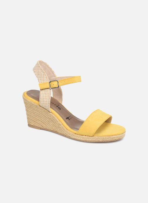 Sandales et nu-pieds Tamaris Nepeta Jaune vue détail/paire