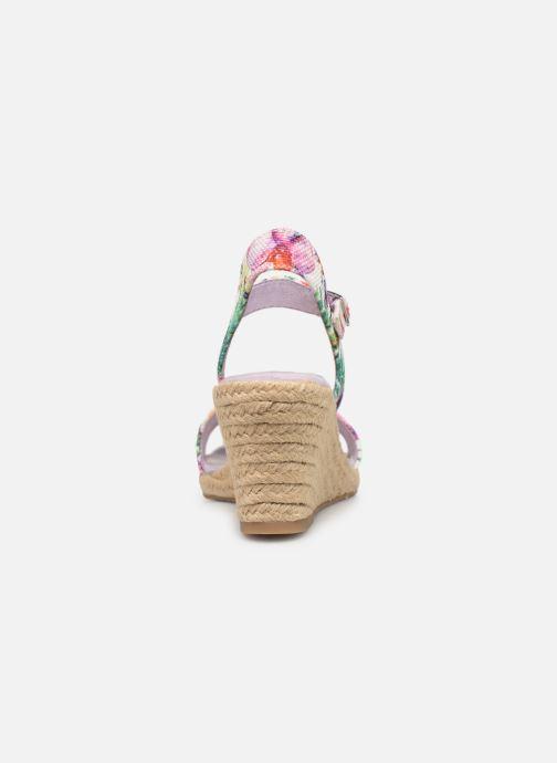 Sandales et nu-pieds Tamaris Nepeta Multicolore vue droite