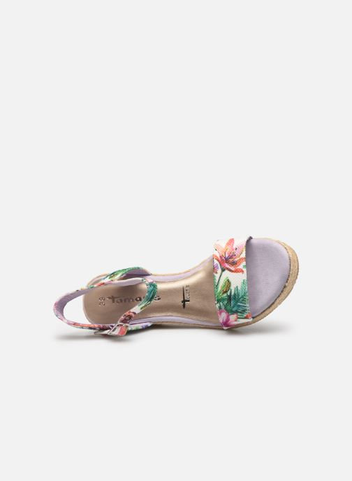 Sandals Tamaris Nepeta Multicolor view from the left