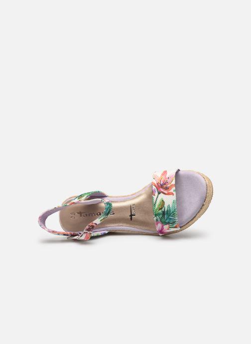 Sandales et nu-pieds Tamaris Nepeta Multicolore vue gauche