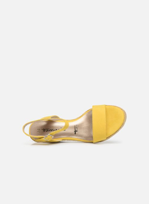 Sandales et nu-pieds Tamaris Nepeta Jaune vue gauche