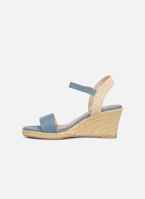 Sandales et nu-pieds Tamaris Nepeta Bleu vue face