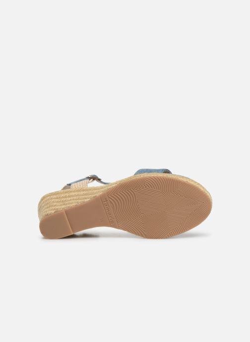 Sandales et nu-pieds Tamaris Nepeta Bleu vue haut