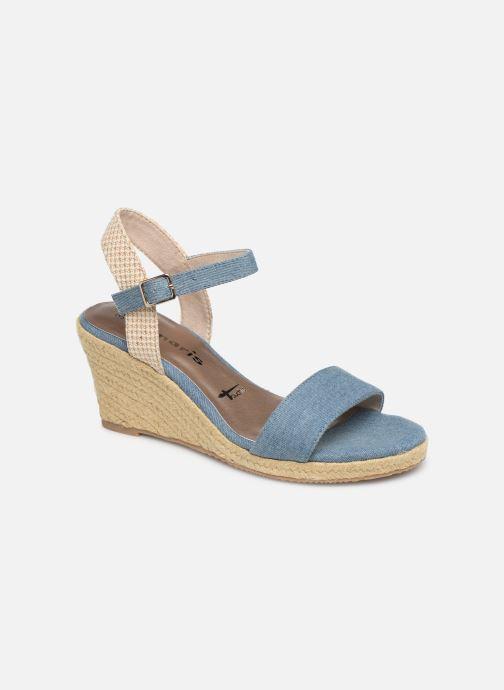 Sandales et nu-pieds Tamaris Nepeta Bleu vue détail/paire