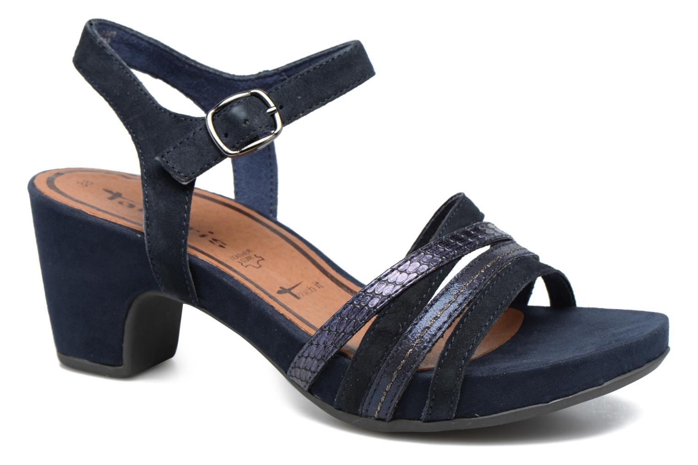 Sandales et nu-pieds Tamaris Euphorbe Bleu vue détail/paire
