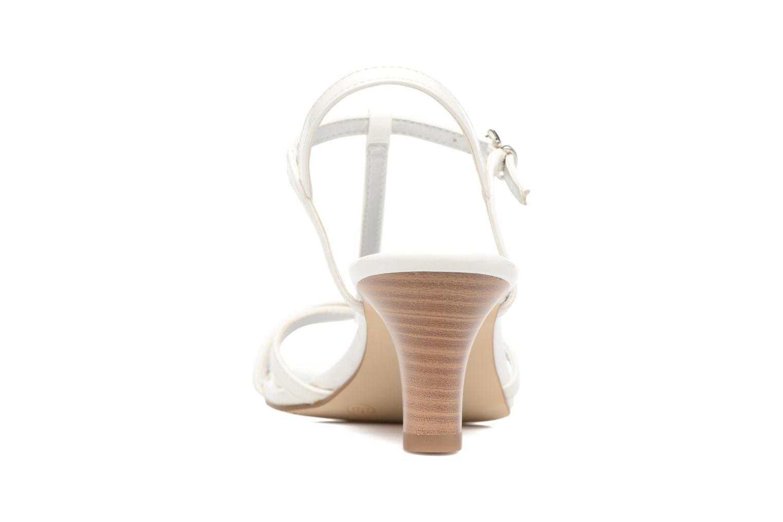 Sandales et nu-pieds Tamaris Carline Blanc vue droite