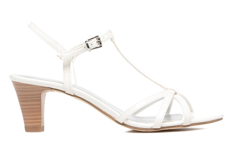 Sandales et nu-pieds Tamaris Carline Blanc vue derrière