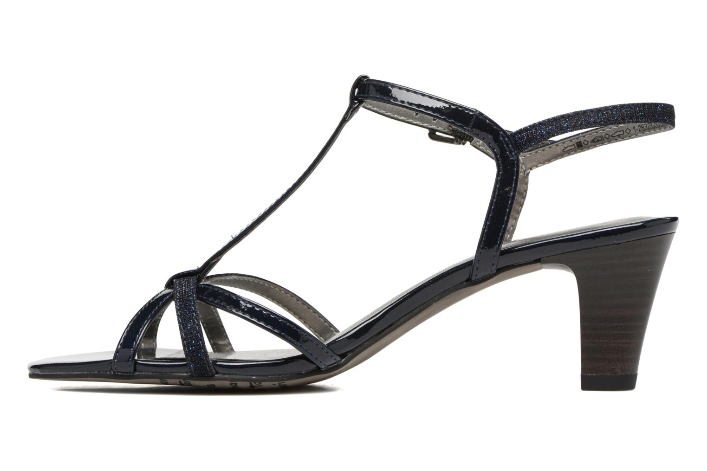 Sandales et nu-pieds Tamaris Carline Bleu vue face