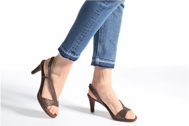 Zapatos de tacón Tamaris Ammy Negro vista de abajo