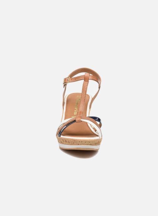 Sandales et nu-pieds Tamaris Aunée Multicolore vue portées chaussures