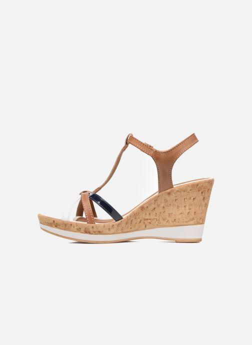 Sandales et nu-pieds Tamaris Aunée Multicolore vue face