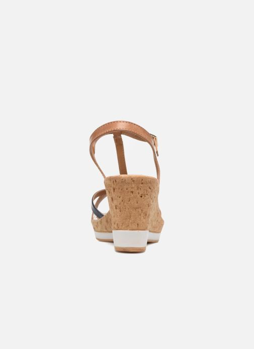 Sandales et nu-pieds Tamaris Aunée Multicolore vue droite