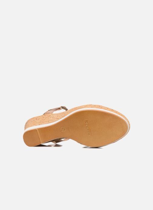 Sandales et nu-pieds Tamaris Aunée Multicolore vue haut