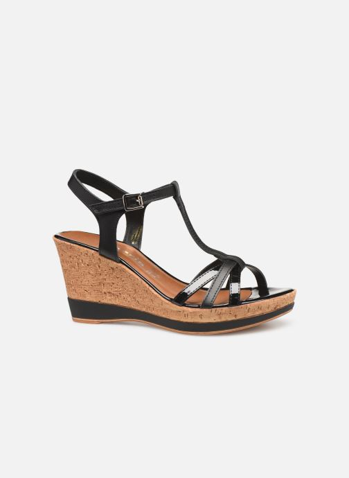 Sandales et nu-pieds Tamaris Aunée Noir vue derrière