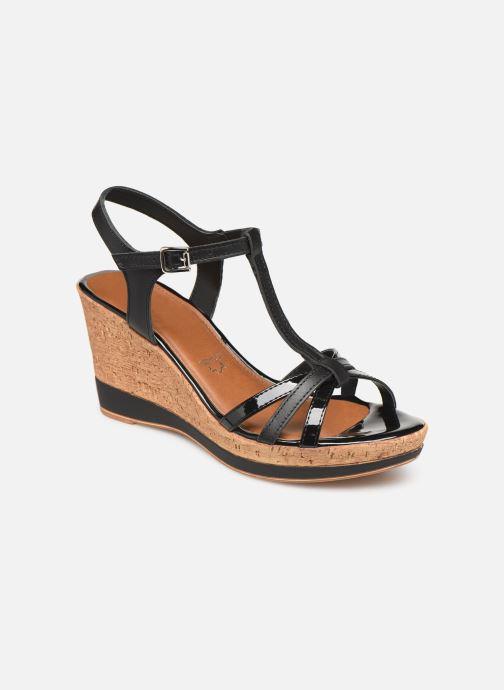Sandales et nu-pieds Tamaris Aunée Noir vue détail/paire