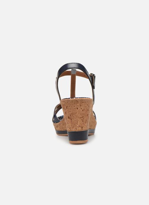 Sandales et nu-pieds Tamaris Aunée Bleu vue droite