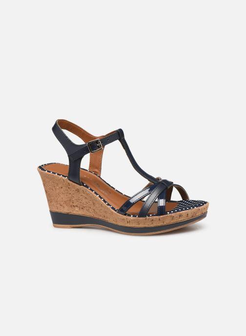 Sandales et nu-pieds Tamaris Aunée Bleu vue derrière