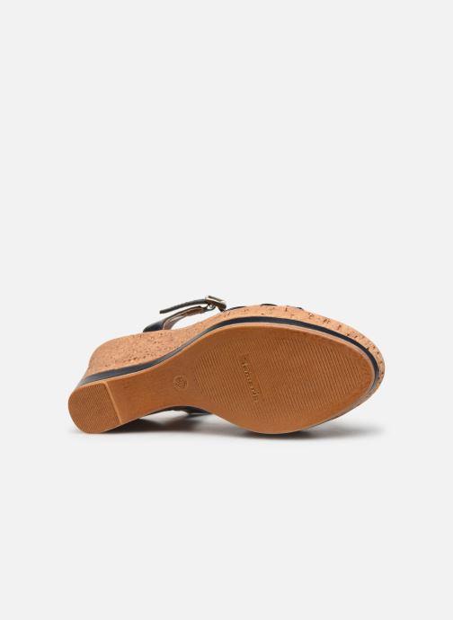 Sandales et nu-pieds Tamaris Aunée Bleu vue haut
