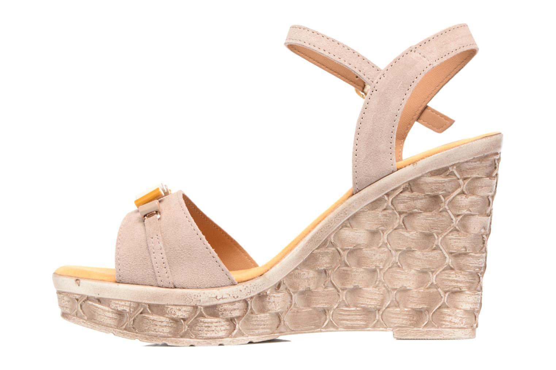 Sandales et nu-pieds Tamaris Kiwai Beige vue face