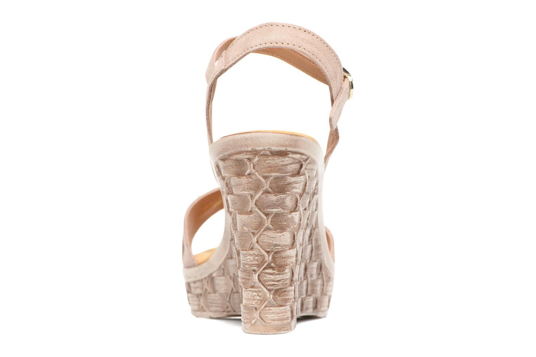 Sandales et nu-pieds Tamaris Kiwai Beige vue droite