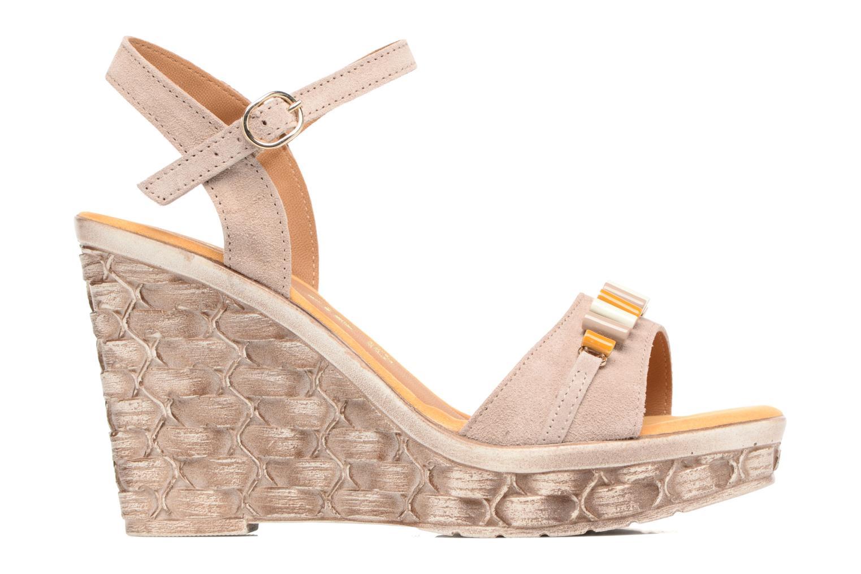 Sandales et nu-pieds Tamaris Kiwai Beige vue derrière