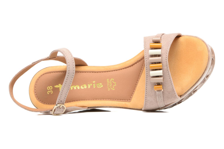Sandales et nu-pieds Tamaris Kiwai Beige vue gauche